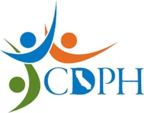California Department of Public Health logo